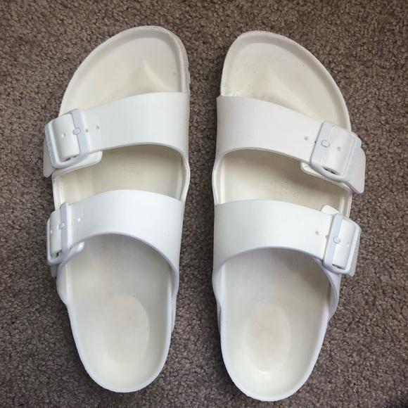 Birkenstock Shoes | White Rubber